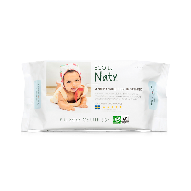 Lightly Scented Wet Wipes Made By Natural And Renewable